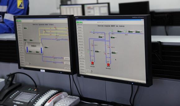 Автоматизированная система управления технологическим процессом парка сжиженных углеводородных газов