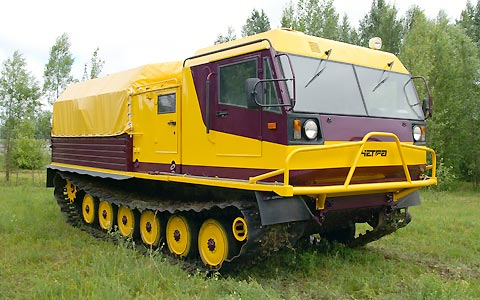 Гусеничный плавающий вездеход CHETRA V30 (ТМ-130) .