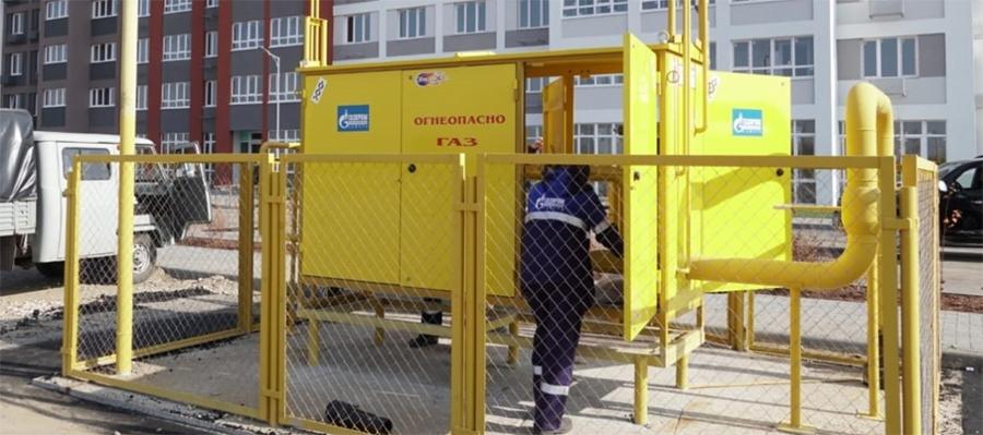 Подан газ на котельную нового макрорайона Амград в г. Самара