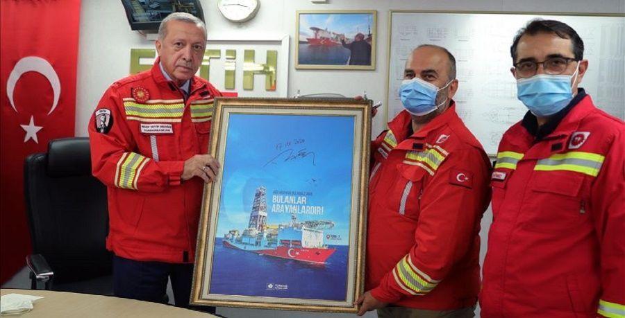Турция разведала на шельфе Черного моря дополнительно 85 млрд м3 газа