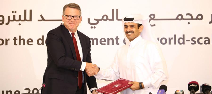 Qatar Petroleum и Chevron Phillips к 2025 г. построят крупный газохимический комплекс