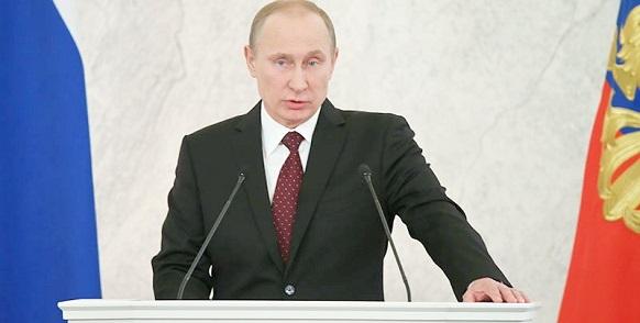 Послание президента России В. Путина Федеральному Собранию 2015 г