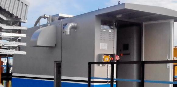 Для утилизации попутного газа на УПСВ-3 Советского месторождения Томскнефти введена вакуумная компрессорная станция ЭНЕРГАЗ