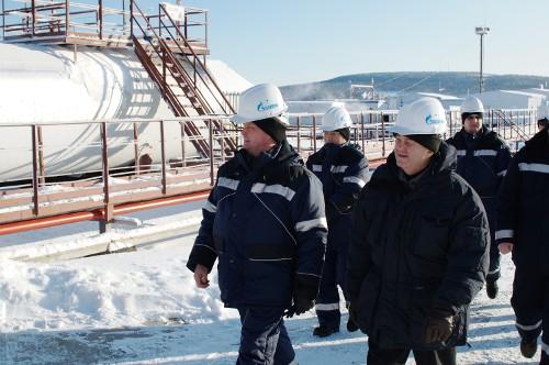 Gazprom experts inspect Kovyktinskoye and Chikanskoye fields