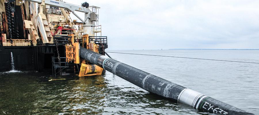 Датский регулятор пока не получил от Nord Stream 2 новый график работ по газопроводу Северный поток-2