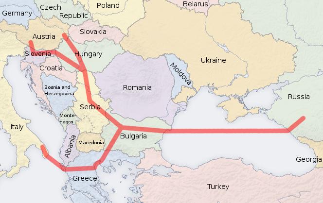 Черногория хочет в Южный поток