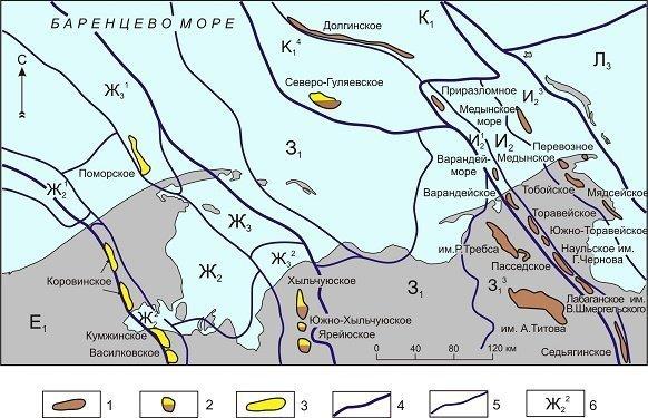 Карбонаты первоочередной объект для поисков залежей нефти и газа в палеозойских отложениях Арктического шельфа