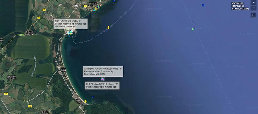 Оживление в Мукране. Черского ставят под загрузку труб для достройки газопровода Северный поток-2?