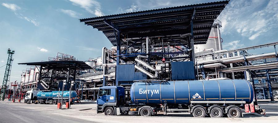 Газпром нефть в 1-м полугодии 2019 г. на 37% увеличила продажи инновационных битумных материалов