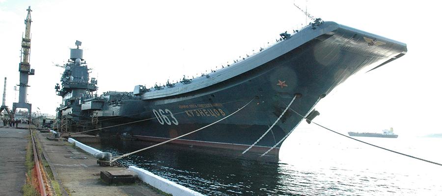 Многострадальный крейсер «Адмирал Кузнецов» будет отремонтирован