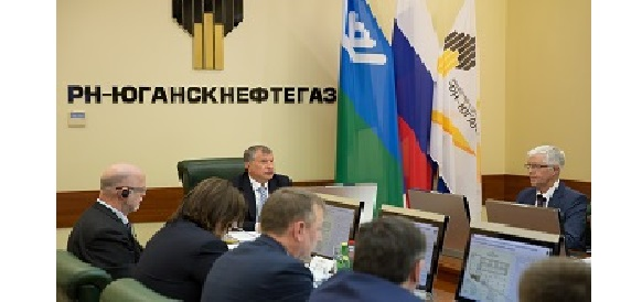 Igor Sechin Held a Working Meeting in Nefteyugansk