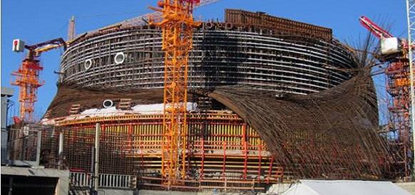 Рабочий погиб при строительстве энергоблока на Ленинградской АЭС-2
