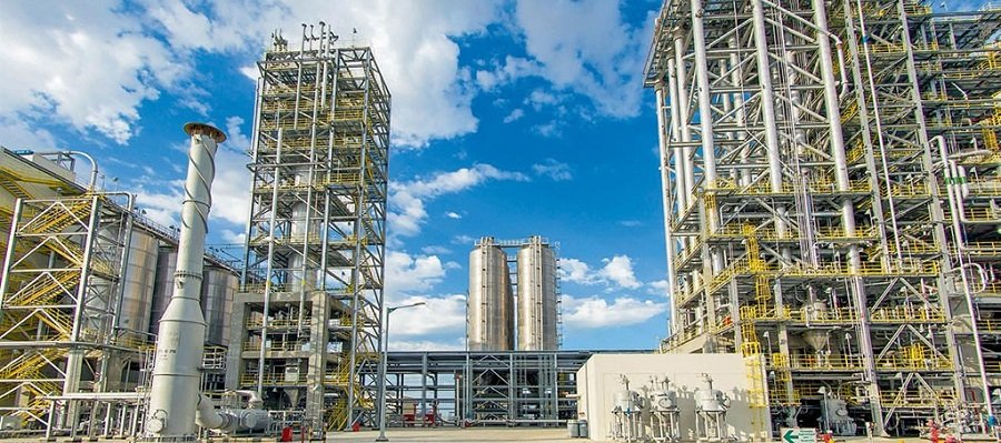 С начала 2019 г. на ГХК в пос. Киянлы произведено 67,9 тыс. т полиэтилена