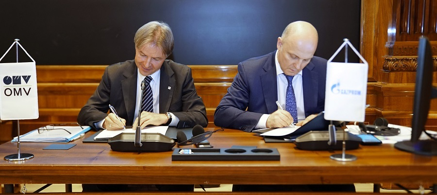 Gazprom and Austrian OMV enhancing sci-tech cooperation