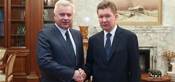 Все по плану. Газпром и ЛУКОЙЛ обсудили ход создания СП для освоения Ванейвисского и Лаявожского месторождений