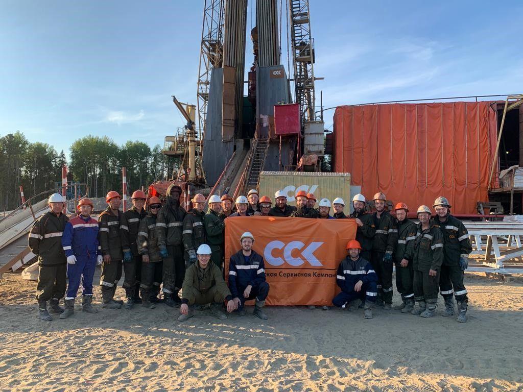 Нефтеюганский филиал АО «ССК» достиг высоких показателей на проекте ООО «Газпромнефть-Хантос»