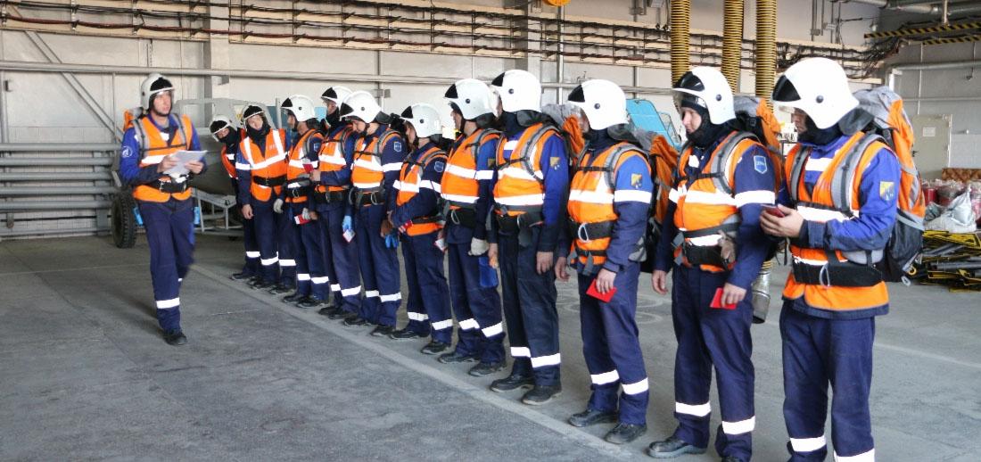 Газпром добыча Ямбург стал победителем конкурса на лучшую учебно-материальную базу по гражданской обороне