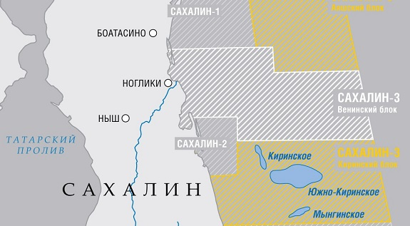 Газпром перенес сроки начала добычи нефти на Южно-Киринском месторождении на 2023 г