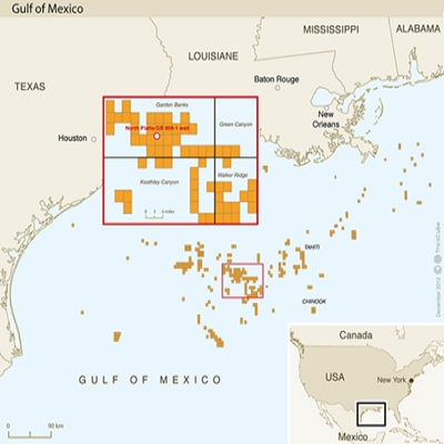 Total  и Cobalt International Energy заявили об открытии крупного месторождения нефти в Мексиканском заливе