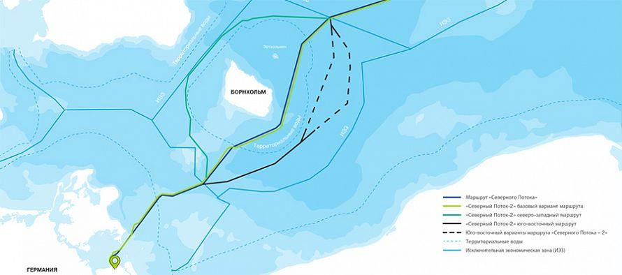 Для защиты интересов инвесторов. Nord Stream 2 отозвала заявку на основной маршрут Северного потока-2 в водах Дании