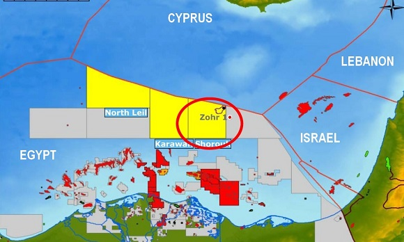 Siapem win management contract for giant Zohr field