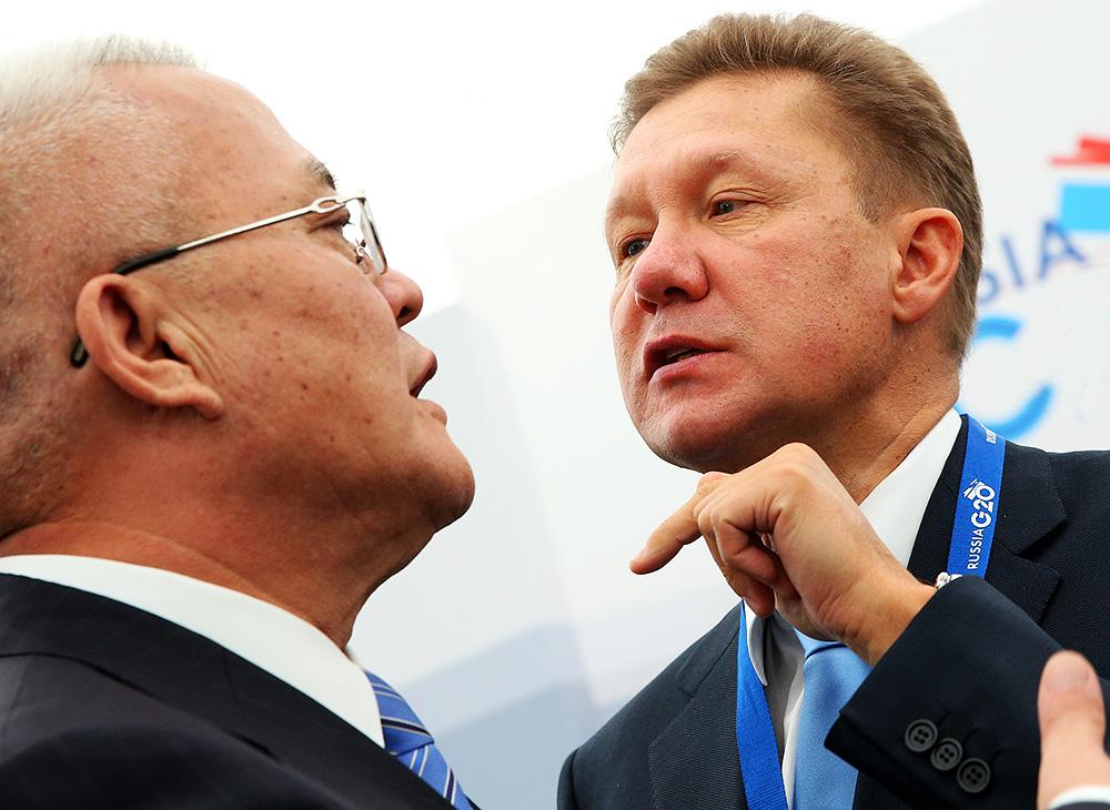 А.Миллер: Газпром и СNPC продолжат переговоры по газовому контракт, обсуждается цена в 400 долл США/1000 м3
