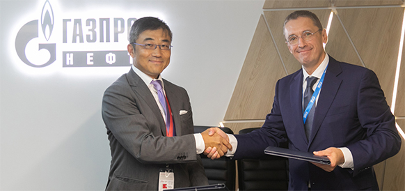 Gazprom Neft and Mitsubishi to assess opportunities for cooperating in developing Sakhalin offshore fields