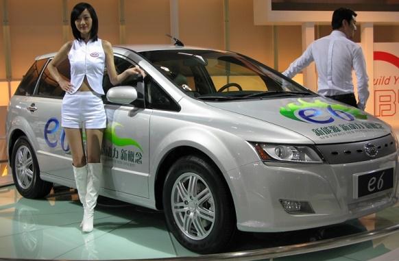 Китай стремится уменьшить выбросы парниковых газов за счет выпуска автомобилей на новых источниках энергии