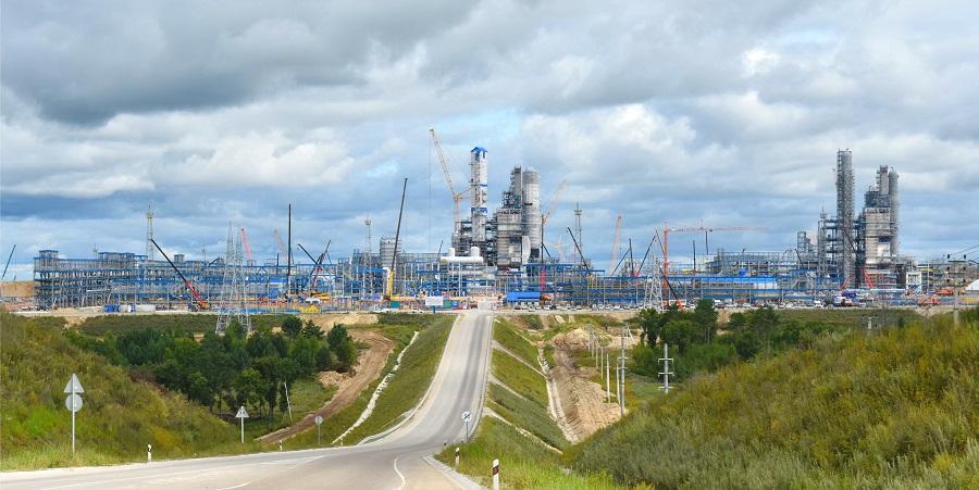 Одобрен скорректированный проект строительства вспомогательных производств Амурского ГПЗ