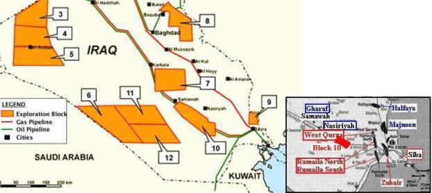 Rosneft starts drilling in Iraq