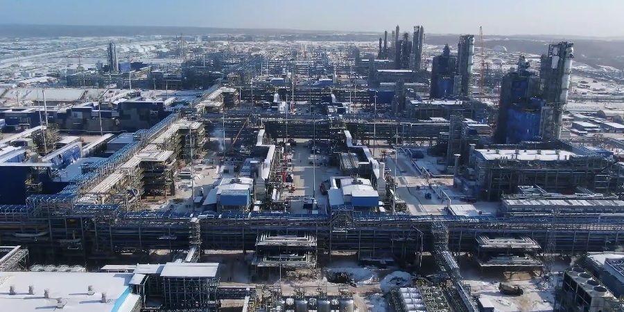 Общий прогресс по проекту строительства Амурского ГПЗ в феврале 2021 г. составил 72,8%