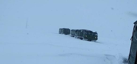 В рамках комплексной экспедиции на Новой Земле военнослужащие Северного флота испытывают новое оборудование в условиях Арктики