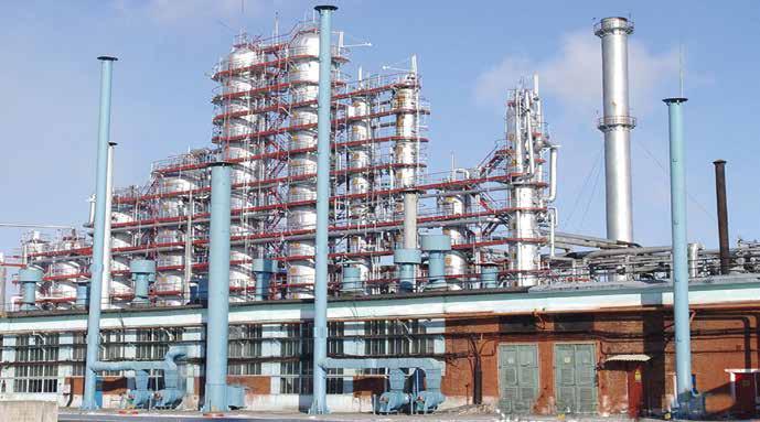 Конструкции винтовых компрессоров для химических, нефтехимических и нефтеперерабатывающих производств