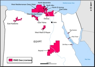 BP, Apache commit to Egypt's Nile Delta