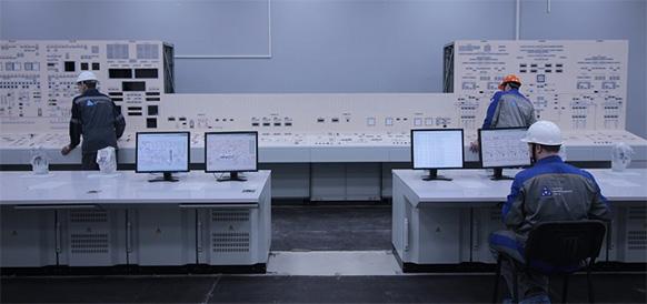 На энергоблоке №2 Ленинградской АЭС-2 начался монтаж автоматизированных рабочих мест для оперативного персонала