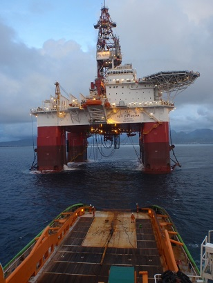 Fairmount Summit delivered rig SSV Catarina offshore Angola
