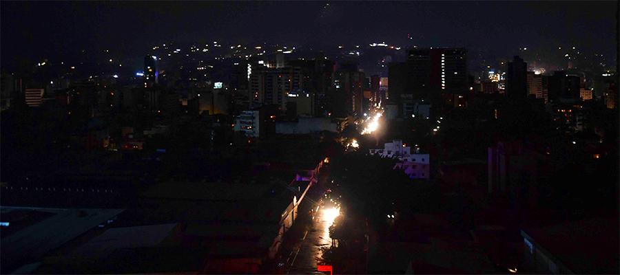 5 за месяц. В Венесуэле произошло очередное масштабное отключение электроэнергии