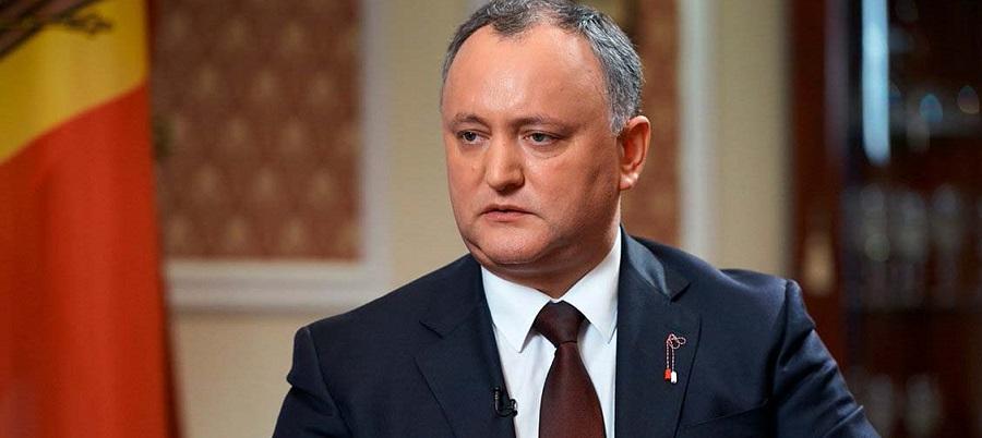 И. Додон. Молдавия надеется добиться от РФ скидки на газ в 25-30%
