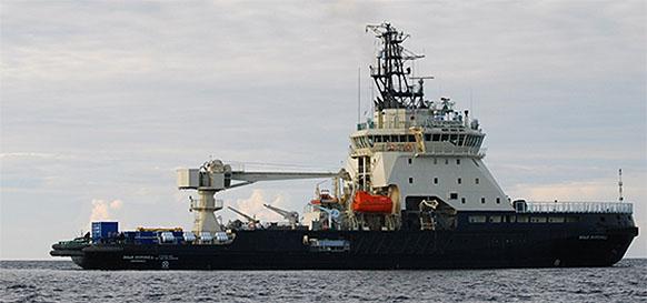 Успешно завершился 1-й этап заводских ходовых испытаний военного ледокола Илья Муромец