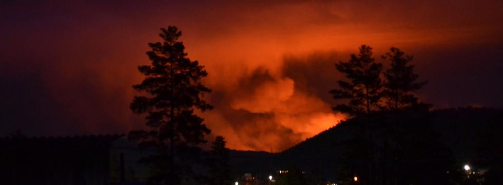 Система видеомониторинга для обнаружения лесного пожара в районе промышленного предприятия