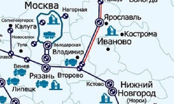 Нефтепродуктопровод Горький – Рязань-2 и Рязань – Москва начали заполнять высокооктановым бензином ЛУКОЙЛа