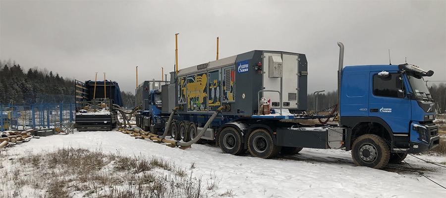 В 2021 г. проект Газпрома по использованию мобильных компрессорных станций выйдет на полную мощность