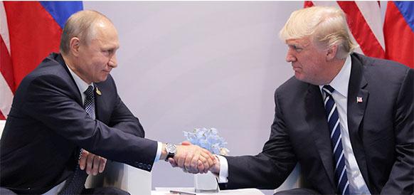 На нейтральной территории. В. Путин и Д. Трамп встретятся 16 июля 2018 г в Финляндии
