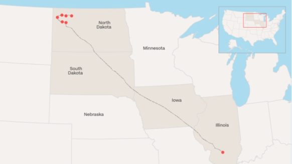 U.S. authorities arrest 76 Dakota Access oil pipeline protesters