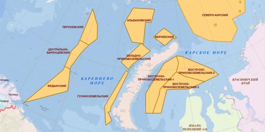 Роснефть поставила на госучет 3-е месторождение, открытое в Карском море - Маршала Рокоссовского