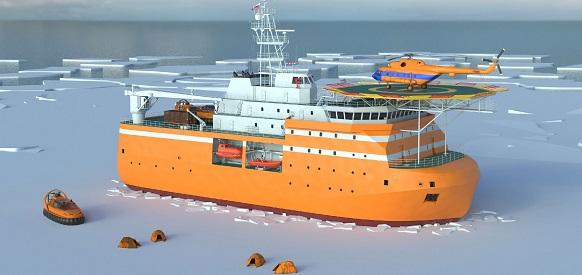 Адмиралтейские верфи и Росгидромет заключили контракт на постройку ледостойкой самодвижущейся платформы Северный полюс