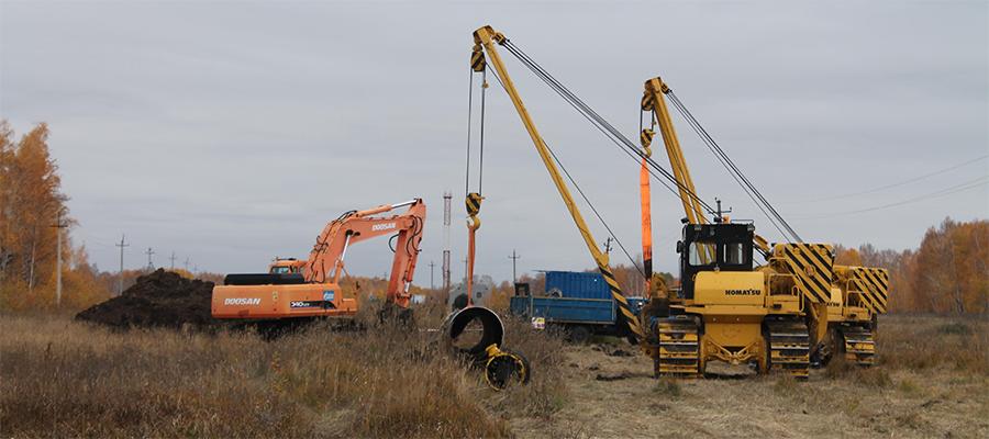 Завершен ППР на на участке магистрального газопровода СРТО - Омск в Омской области