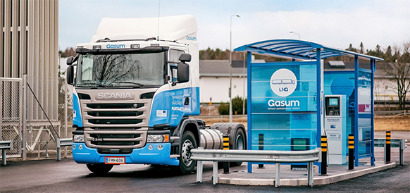 Gasum объединяет скандинавский СПГ-рынок. Норвежская Skangas переходит на бренд Gasum