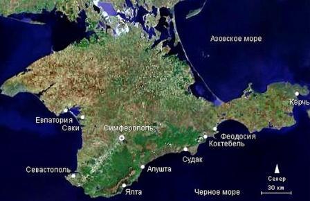 Зимой газ в Херсонскую область Украины будет поставляться из Крыма