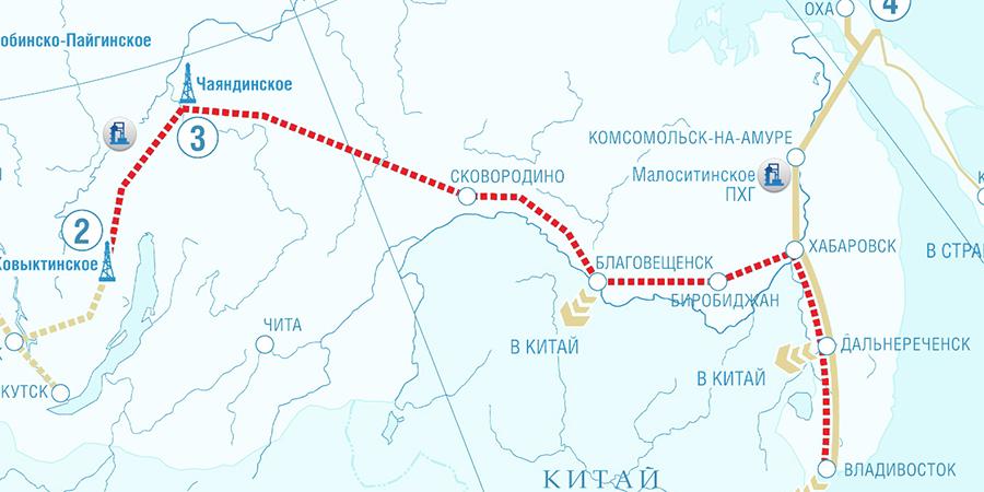 Gazprom delegation visits China